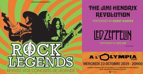Rock Legends, Olympia et tournée française