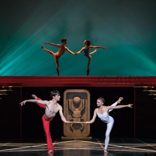 béjart ballet lausanne, paris, palais des congres, la flute enchantée, Mozart